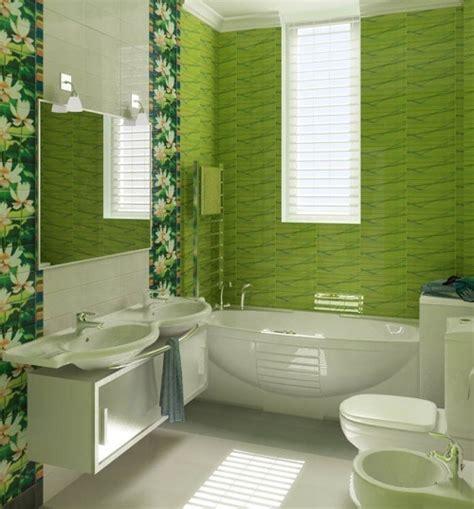 bathroom ideas green green flower pattern bathroom tile ideas home interiors