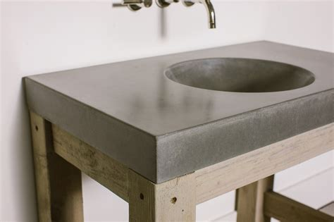 how to make a cement sink orb sink concrete wave design concrete countertops
