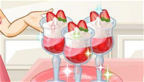 jeux de cuisine de glace le parfait aux fraises de jeu de cuisine de