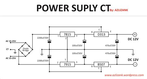 power supply simetris  high regulator azlizank