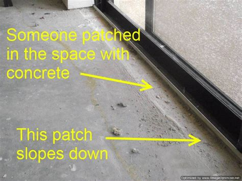 installing laminate at sliding glass doors
