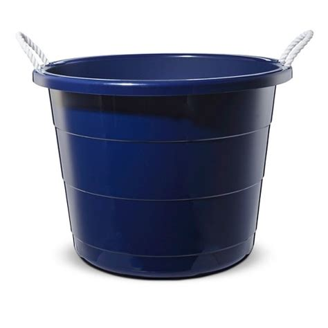 plastic storage tub plastic storage tub large navy pillowfort target