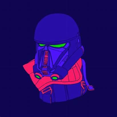 Wars Star Trooper Death Gifs Animation Rogue