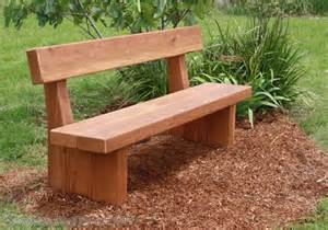 Garden Bench Pad by Solid Timber Outdoor Furniture Manufacturers Timber