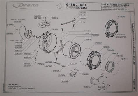solucionado cambio de rodamientos en lavarropas drean excellent blue yoreparo