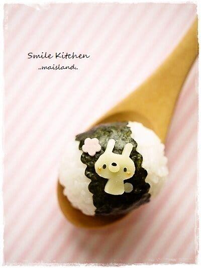 Pin Anime Panda Happy Lunchbox On 1000 Images About Onigiri On Kawaii Sushi