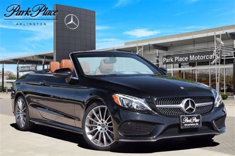 For more information, be sure. 2017 Mercedes-Benz C-Class C 300 Cabriolet for Sale in Dallas, TX - CarGurus