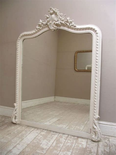 shabby chic mirror uk shabby chic large french antique rococo style crested mirror c1880 french furniture