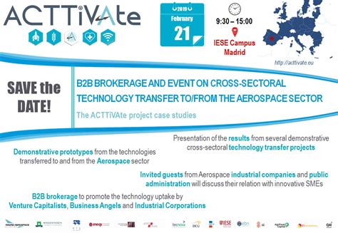bb brokerage event cross sectoral technology transfer tofrom