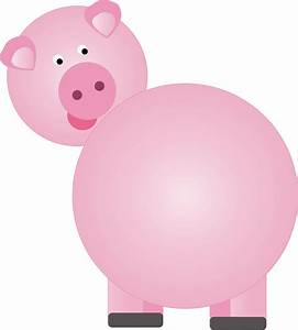 Pin The Tail Pig Party digital image downloadable only