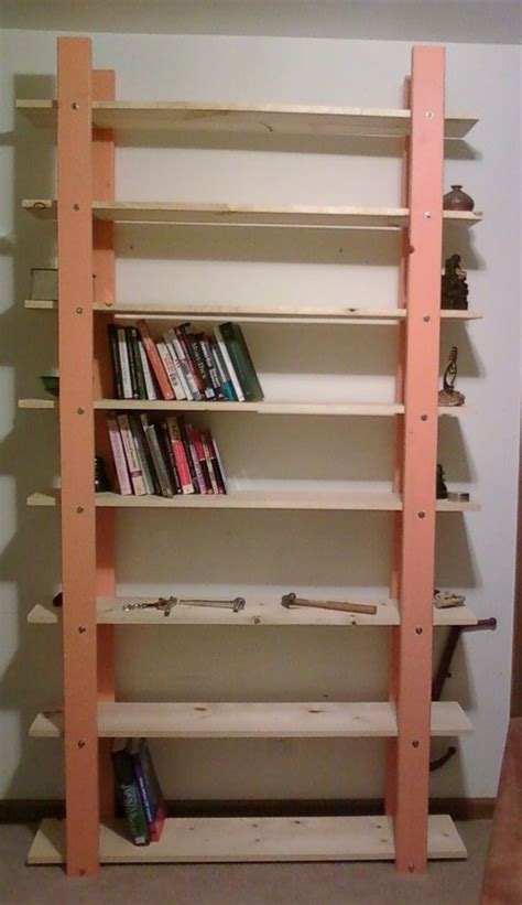 Build A Bookcase by Cheap Easy Low Waste Bookshelf Plans Woodworking Diy