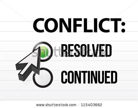 conflict resolved question and answer selection design