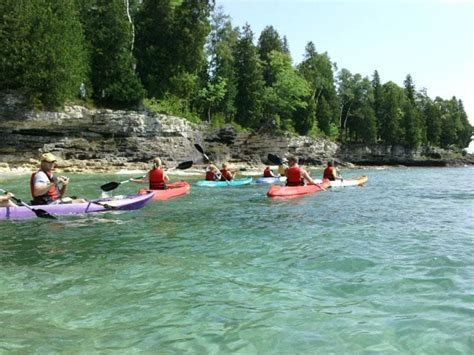 door county kayaking door county kayak tours book lakeshore adventures