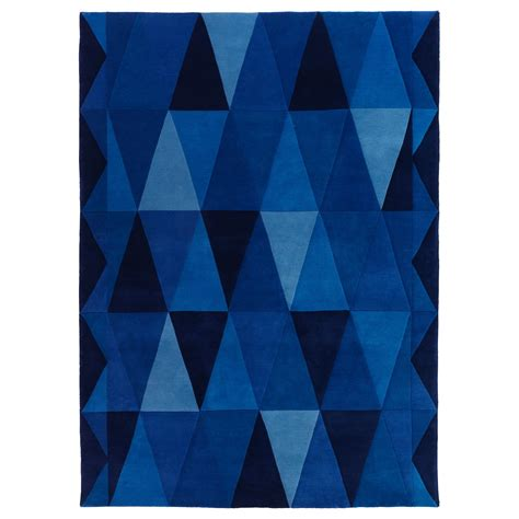 Ikea Teppich Blau by I Want This For My Blue Room Ikea Stockholm Triangel Rug
