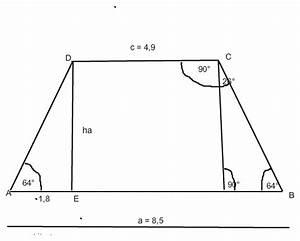Kräfte Berechnen Winkel : trigonometrie berechne fehlende winkel und seiten des symmetrischen trapezes mathelounge ~ Themetempest.com Abrechnung