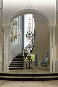 Interior Entrance Staircase Design