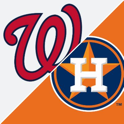 nationals  astros game summary february   espn