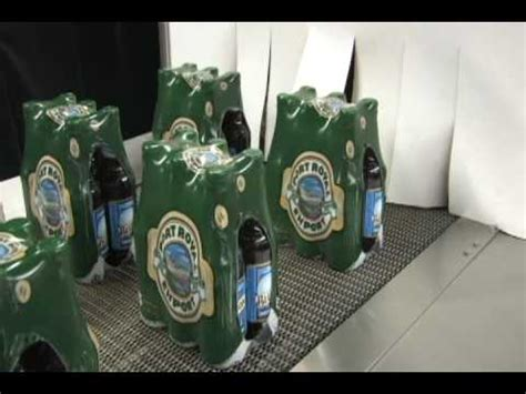 shrink wrapping glass bottles  beer youtube