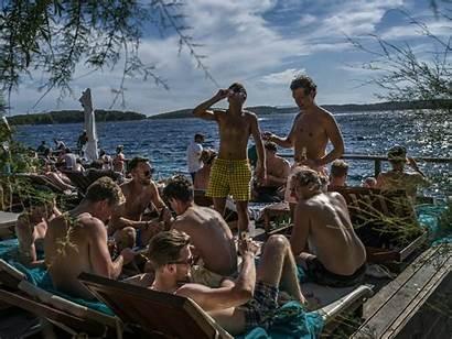 Island Hvar Beach Croatia Croatian Tourists York