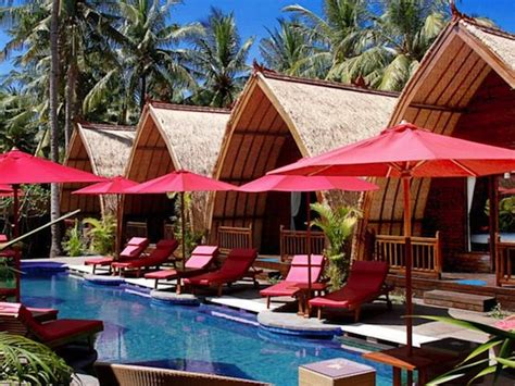 Quality Accommodation In Gili Trawangan 35 Hotels, Villas