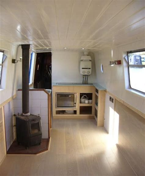 narrowboat interior refurb tiny kitchen works
