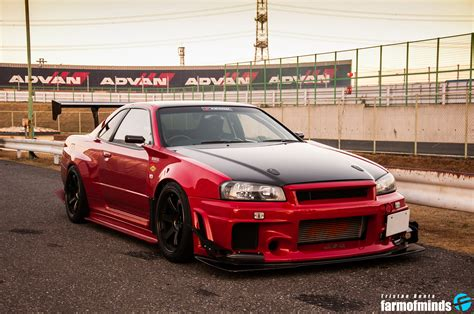 wallpaper attkd  nissan skyline gt  farmofminds