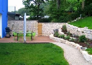 Gartengestaltung Mit Naturstein Mauern Wasserläufe Und Terrassen : naturstein mauerbau urbin gartengestaltung die en ~ Orissabook.com Haus und Dekorationen