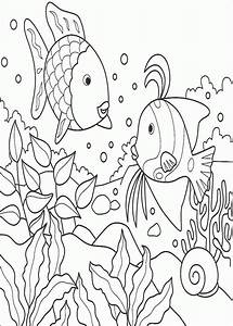 Rainbow Fish Coloring Pages - ColoringPagesABC.com