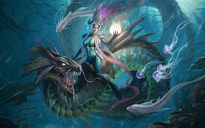 Fantasy Witch Magic Artwork Background Wallpapers13