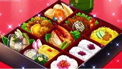 Anime Delicious Bento Japanese Cartoon Animemotivation Mmm