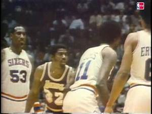 Magic Johnson Plays Center in 1980 Finals - YouTube
