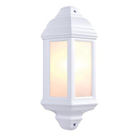 endon lighting halbury single light flush outdoor wall