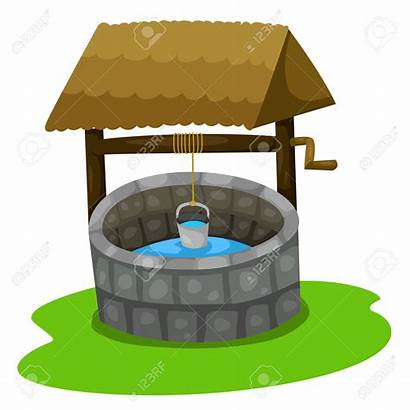 Well Clipart Water Vector Wells Clipground Cliparts