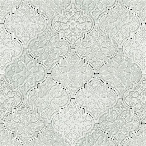 white arabesque tile byzantine florid arabesque blue ceramic wall tile