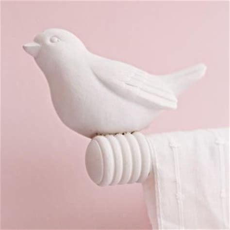 Bird Finials (set Of 2)  Curtain Rods, Accessories And