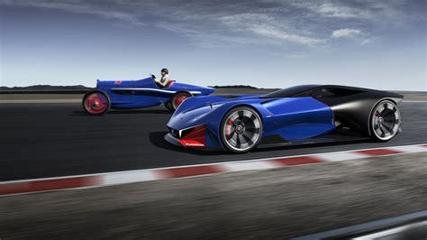 peugeot concept car peugeot l500r hybrid concept supercar wallpaper hd car