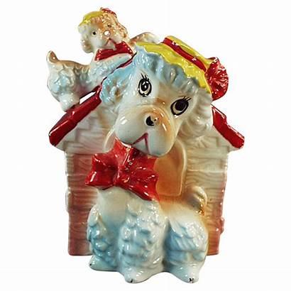 Bank Dog Ceramic Piggy Rubylane Teddy Bear