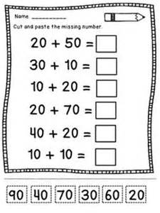 multiples of ten worksheets to use to introduce adding two digit numbers to multiples of ten reading tools