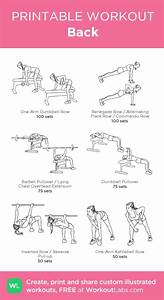 85 Best Workout Diagram Images On Pinterest