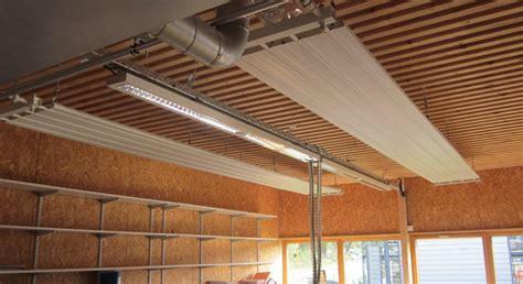 panneau rayonnant a eau chaude pour plafond