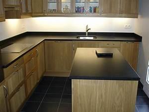 Plan De Travail Granit : plan de travail granit noir noir z12 pics travail ~ Dailycaller-alerts.com Idées de Décoration