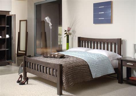 quercus solid oak oxford bed  tempo furniture