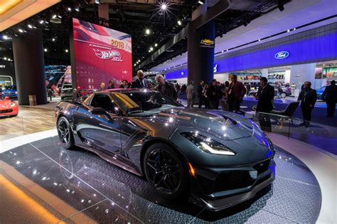 Motor Show 2019 :  The Fastest Cars At This Year's Detroit Auto Show