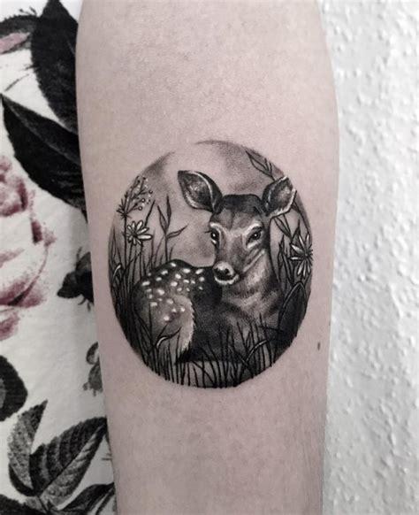 tatouages de cerf  de biche  leur signification