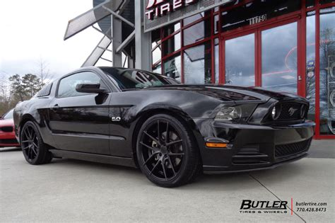 ford mustang   niche targa wheels exclusively