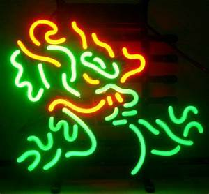 Rabatt Dragon Neon Sign