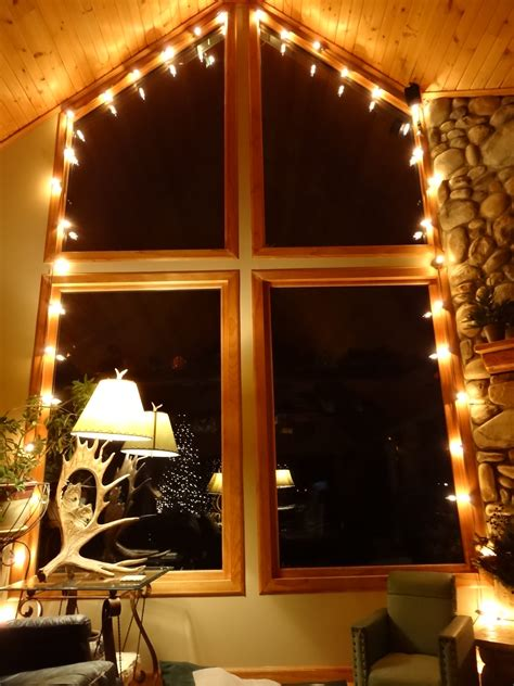 Window Lights by 30 Ways To Create A Ambiance With String Lights