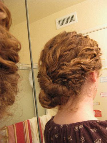 images  vintage hair  pinterest updo