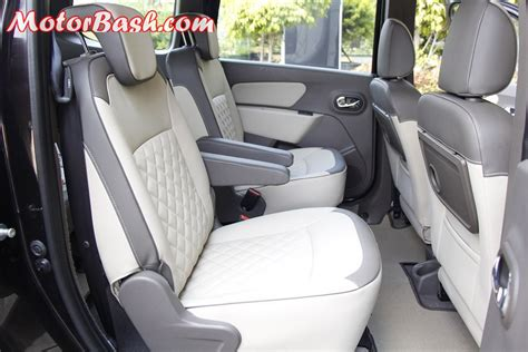 renault lodgy seating renault lodgy mpv road test review engine features details