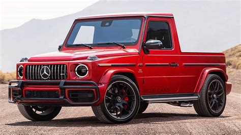 However, it's also among the most expensive, which caters to the company's elite clientele. Mercedes klasy G w wersji pick up jako następca klasy X?